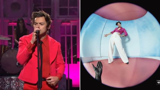 Harry Styles takes us back to summer with new song Watermelon Sugar after slaying Saturday Night Live