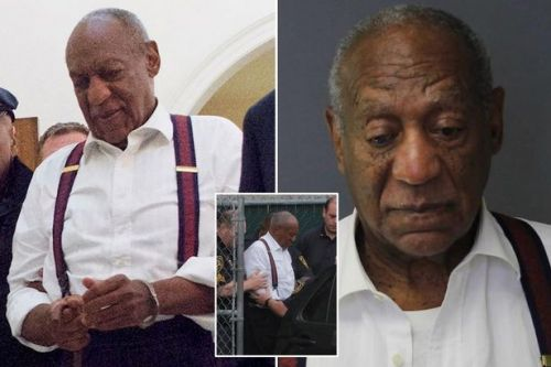 Bill Cosby 'laughs in court' before being led away in cuffs as comedian is jailed for up to 10 years