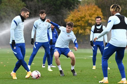 Billy Gilmour returns to Chelsea training after knee injury - and immediately trolls Timo Werner