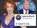 Kathy Griffin tweets 'it wasn't me' after shooting near White House during Trump press conference