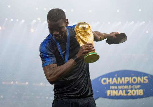 Paul Pogba gets Roy Keane's approval for a new haircut after becoming first Manchester United player to score in a World Cup final