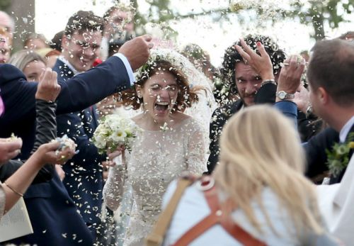 In pictures: Game of Thrones stars Kit Harington and Rose Leslie get married in north-east