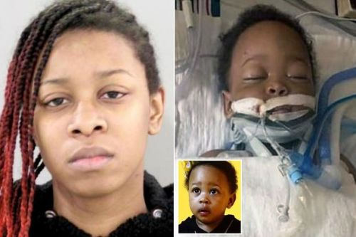 Woman, 20, charged with horrific murder of baby son after toddler 'pulled TV over'