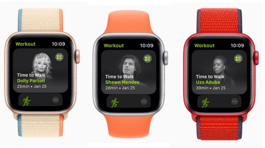 Apple Time to Walk lets you take a stroll with a new celebrity guest every week