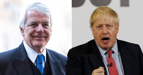 Former Tory Prime Minister John Major won't back Conservatives at the general election