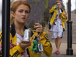 EastEnders' Maisie Smith steps out make-up free. after seen smoking 'strong-smelling' cigarette