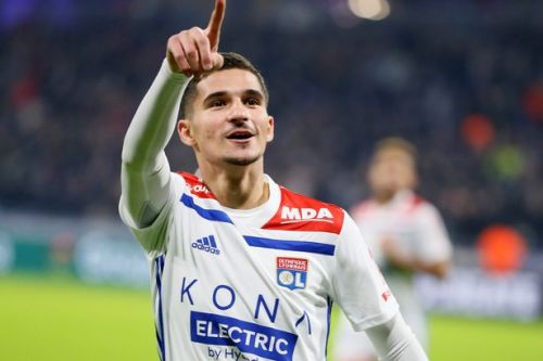 Man City and Arsenal 'in £54m transfer battle' for Lyon star Houssem Aouar