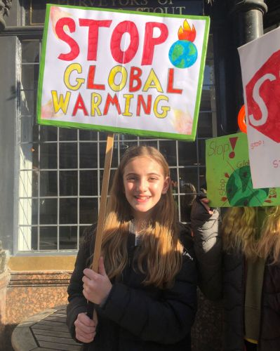 Meet The Kids On Climate Strike: 'An Attack on Nature Is An Attack On Us'
