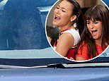 Lea Michele is spotted for the first time since news of her Glee co-star Naya Rivera's death