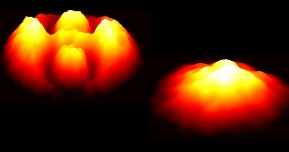 Physicists capture first footage of quantum knots unraveling in a superfluid