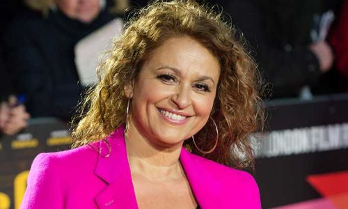 Nadia Sawalha completely strips off in the garden for this reason