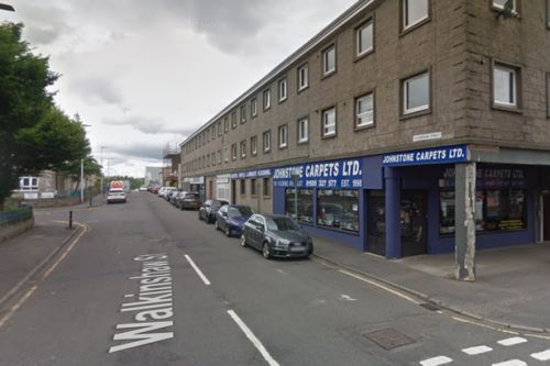 Two women rushed to hospital after car ploughs into them in Johnstone