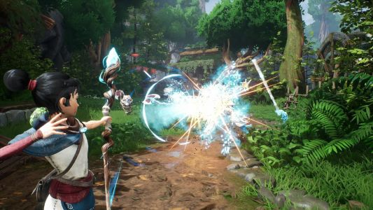 Here's a fresh look at Kena: Bridge of Spirits' combat and boss fights