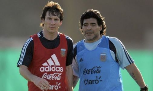 Lionel Messi delivers emotional Diego Maradona tribute statement after icon's death