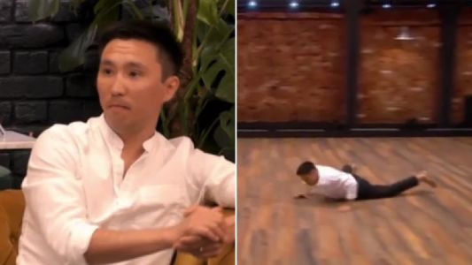 The Greatest Dancer gives viewers heart attack as returning contestant falls during routine