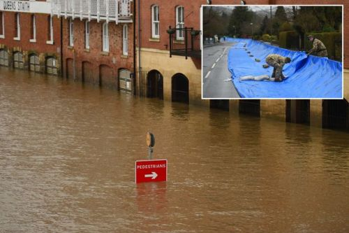 UK weather: 87mph Storm Dennis bringing more chaos with flooding and travel warnings