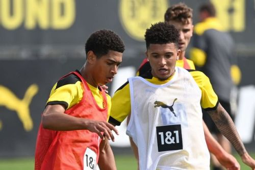 Bellingham explains how Jadon Sancho has helped him settle at Borussia Dortmund