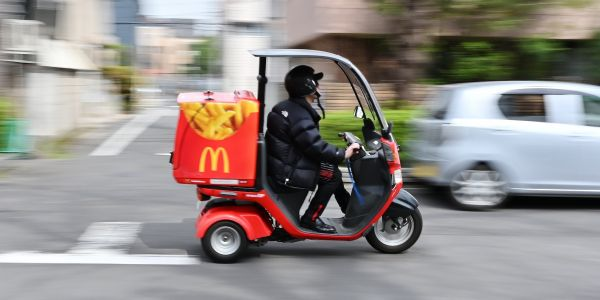 McDonald's says it gets 10 McDelivery orders per second - and Wall Street agrees it's the next 'big frontier' for the fast-food giant