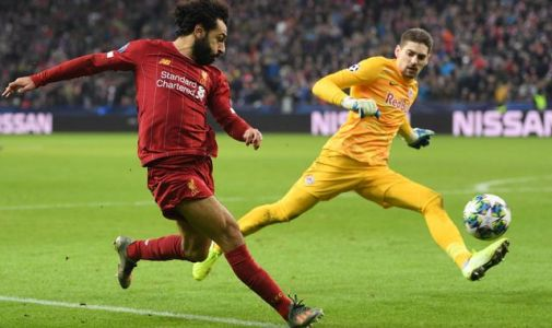 Jurgen Klopp hails Mohamed Salah's 'sensational' strike after Liverpool book Champions League last-16 place