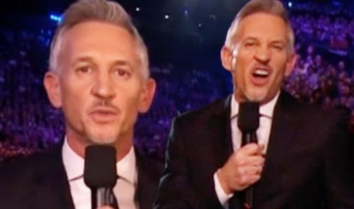 BBC Sport Personality of the Year: 'Nearly fell' Gary Lineker risks live TV disaster