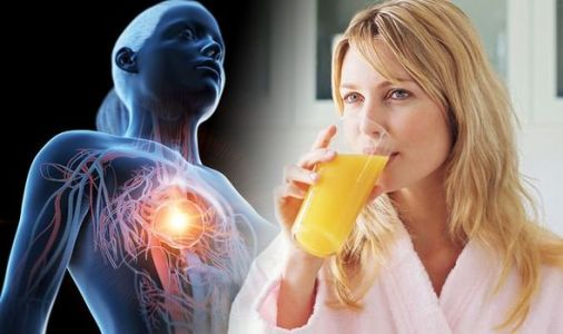Heart attack: The best juice to drink to lower your risk of the deadly condition