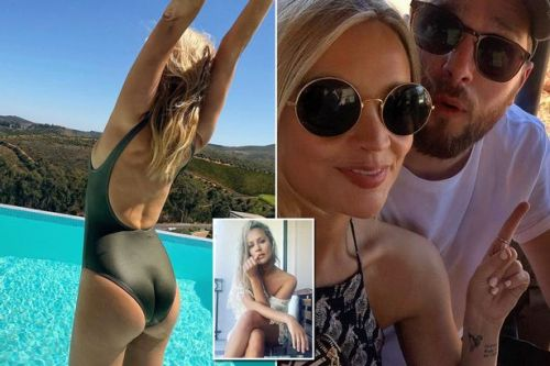Laura Whitmore stuns in a rare sexy swimsuit snap in South Africa after Love Island