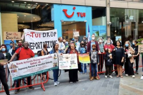 Glasgow TUI protest planned as holiday giant allows charter flights to be used for deportations