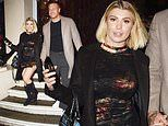 Love Island's Olivia Buckland holds hands with dapper husband Alex Bowen at Cinderella's press night