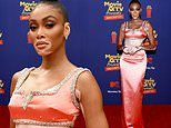 Winnie Harlow is peachy in striking custom Miu Miu outfit at MTV Movie & TV Awards Unscripted