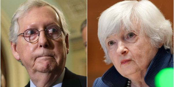 Janet Yellen says Treasury is prepared to pay the US's bills to prevent 'irreparable harm' to the economy as GOP balks at raising debt ceiling