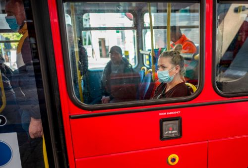 TfL stopped 3,000 people without face masks getting on buses