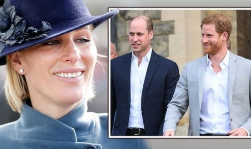 'Wild royal' Zara Tindall set precedent for cousins William and Harry with 'rebel' conduct