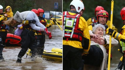 Storm Dennis declared a 'major incident' as people rescued from floods
