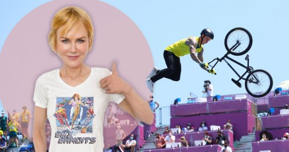 Nicole Kidman gives shout-out to Australian BMX champ Logan Martin after Olympic gold medal