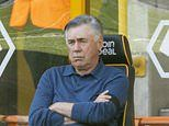 Carlo Ancelotti grills his Everton team after their 'frustrating' 3-0 defeat to Wolves