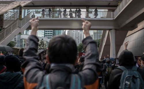 Hong Kong police defuse bombs left in school grounds