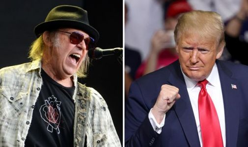 Neil Young sues Donald Trump for using his songs at rallies