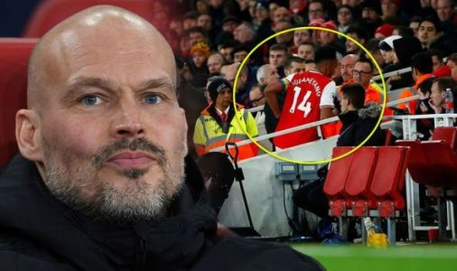 Arsenal boss Ljungberg didn't even notice Aubameyang leave for toilet break during loss