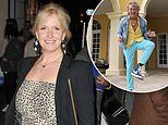 Penny Lancaster insists Rod Stewart's knee is 'better than ever' after replacement surgery