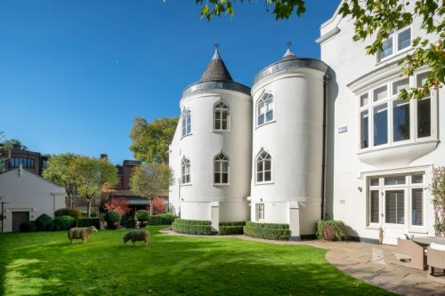 Turreted fairytale castle on the market for £17.5million - and it's in London