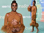 Issa Rae leads stars at the Insecure season five premiere in LA