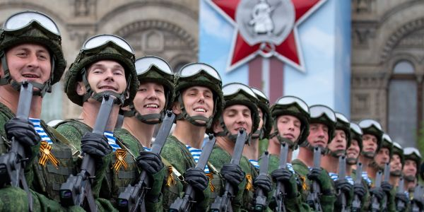 Russia has pledged to go ahead with a massive WWII memorial parade - which attracts crowds of more than 100,000 - despite its growing coronavirus outbreak