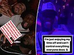 Wilfried Zaha parties in nightclub in front of message calling him to join Arsenal