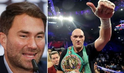 Eddie Hearn demands Tyson Fury fights Anthony Joshua after Deontay Wilder knockout