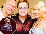 Holly Willoughby reveals Elton John made her 'dreams come true' with song dedication