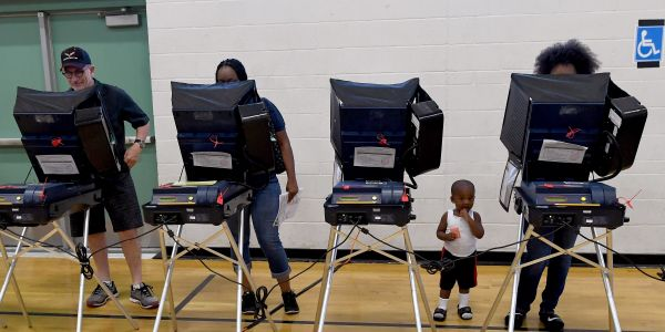 Some vote-counting computers came with a critical flaw that could have let hackers access them