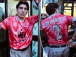 Hector Bellerin shows off custom Arsenal shirt with WWF sponsor
