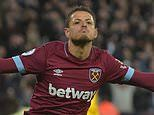 West Ham's Javier Hernandez is 'enjoying playing football' again