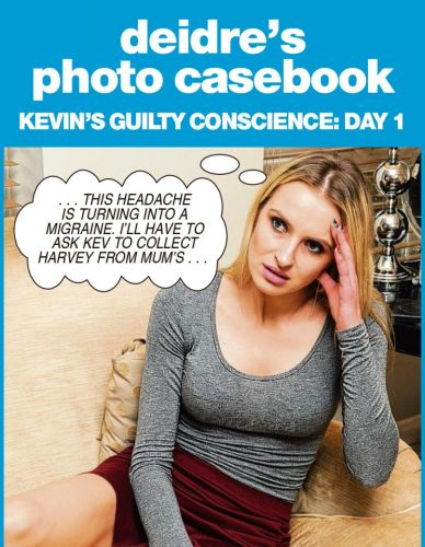 Kevin feels guilty for moaning about picking up his son - Deidre's photo casebook