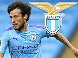 David Silva 'set to sign for Lazio on a three-year deal on Monday' after saying goodbye to Man City